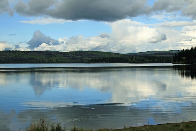 Deserto lago paesaggio alaska acqua naturale
