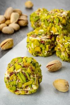 Dessert al pistacchio delizia turca