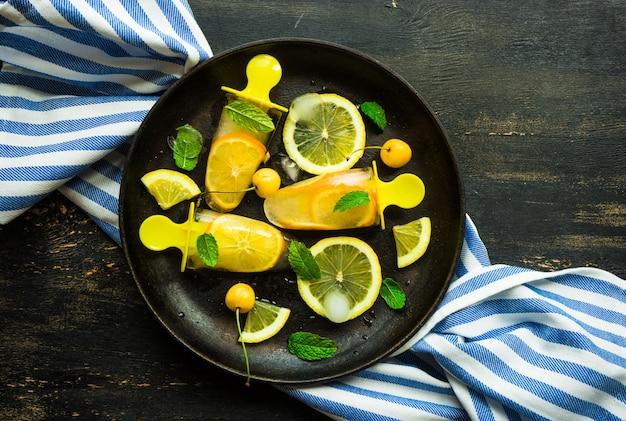 Dessert estivo al limone