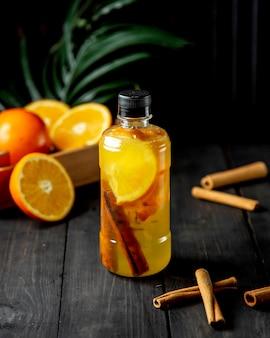 Detox con arancia e cannella