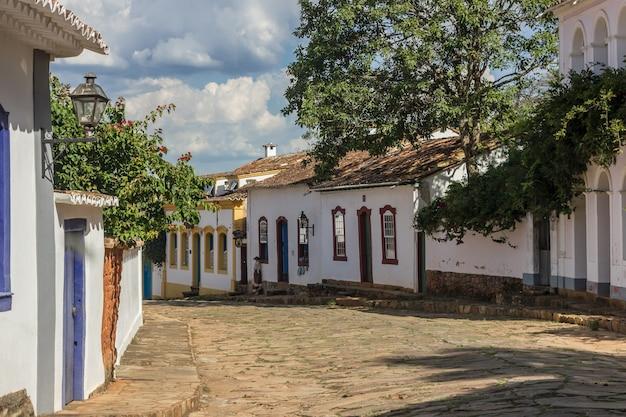 Dettagli della città di tiradentes in brasile