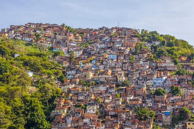 Dettagli della collina dei piaceri a rio de janeiro - brasile
