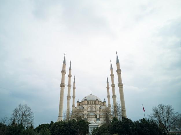 Dettaglia una moschea dalla turchia