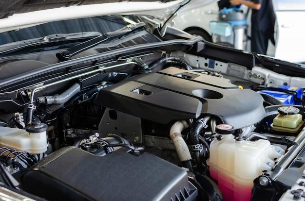 Dettaglio del motore dell'auto
