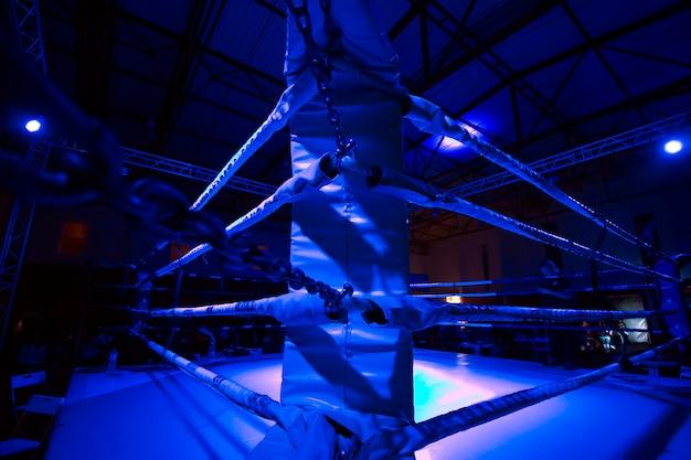 Dettaglio dell'anello kickboxer