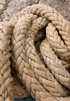 Dettaglio della corda delle navi