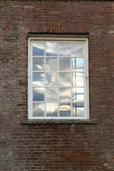 Dettaglio della finestra dell'hotel the singular, puerto natales, patagonia, cile
