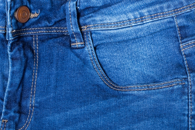 Dettaglio di blue jeans