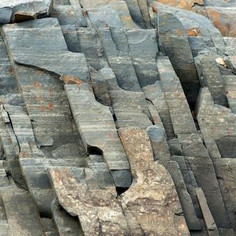 Dettaglio di rocce, piccola catalina, bonavista peninsula, terranova e labrador, canada