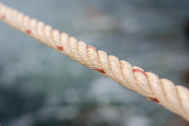 Dettaglio strutturato di corda