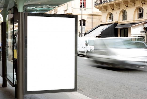 Di una pubblicità di cartelloni pubblicitari all'aperto
