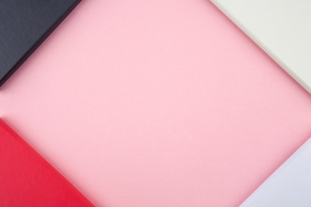 Diario di capodanno 2020 su sfondo rosa