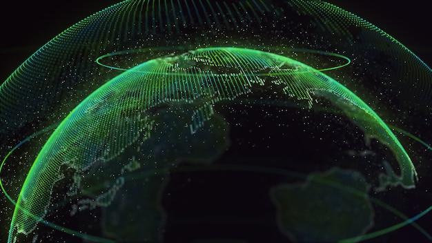 Digital earth global network
