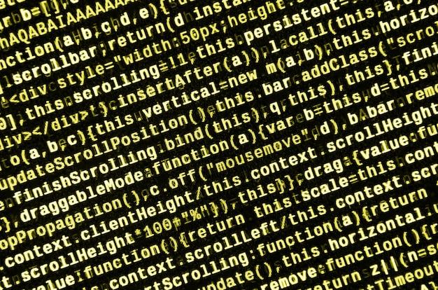 Digitazione del codice di programmazione.