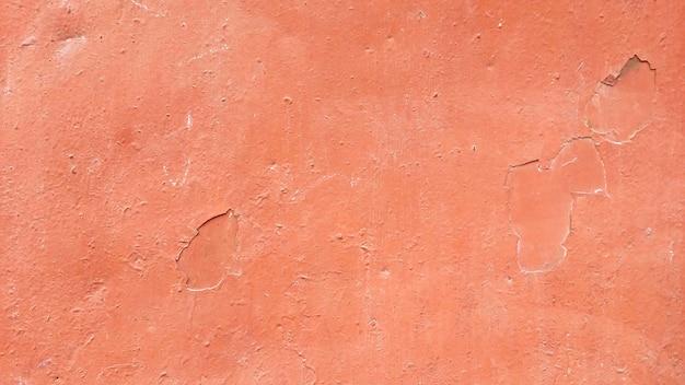 Dipingere la trama della parete. sfondo di metallo rosso.