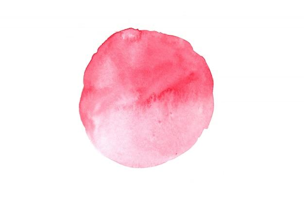 Dipinti ad acquerelli con immagini astratte colorate artistiche su carta bianca. concetto di acquerello