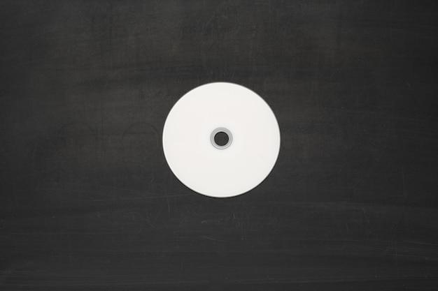 Disco bianco vuoto