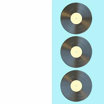 Disco in vinile classico