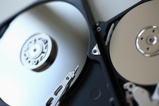 Disco rigido da computer o laptop si trova sul