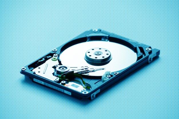 Disco rigido per computer portatile smontato