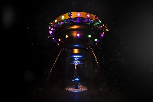 Disco volante extraterrestre e volante