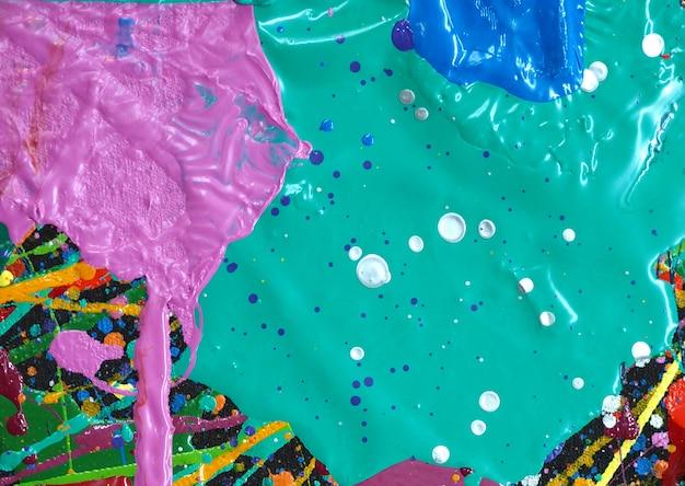 Disegnare a mano texture colorate pittura ad olio astratta.