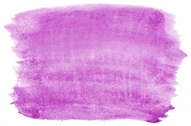 Disegnata a mano forma acquerello viola per il vostro disegno. sfondo dipinto creativo, decorazione fatta a mano
