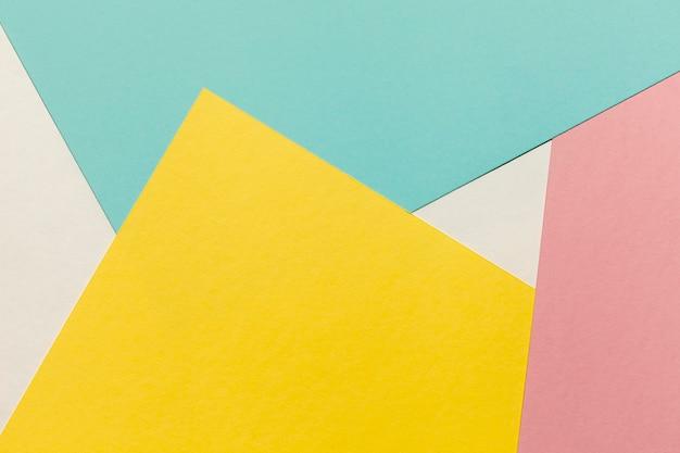 Disegno di sfondo di forme geometriche