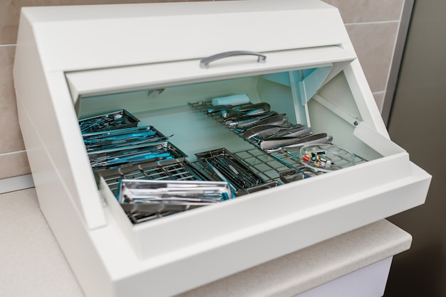 Disinfezione degli strumenti dentali