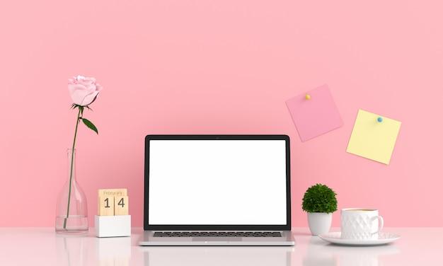 Display per laptop per mockup