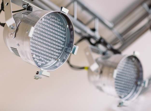 Dispositivi di illuminazione a led.