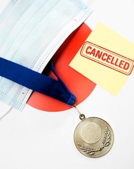 Disposizione annullata evento sportivo