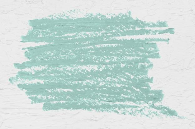 Distintivo di vernice verde menta