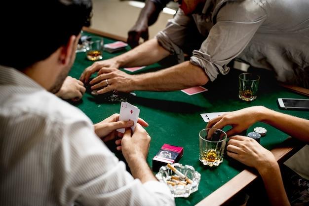 Diversi giochi d'azzardo per adulti