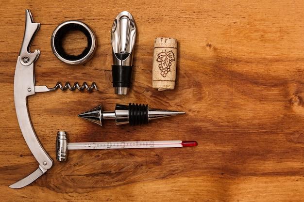 Diversi strumenti per il vino