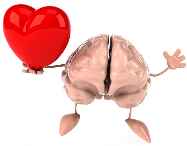 Divertente animazione al cervello