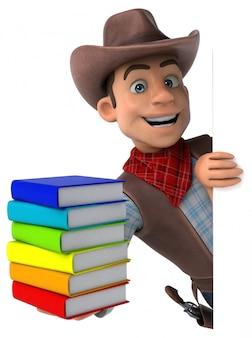 Divertente animazione da cowboy