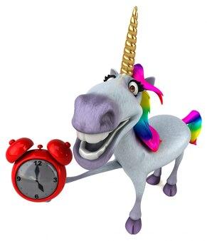 Divertente animazione unicorno