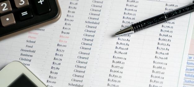 Documento di analisi contabile