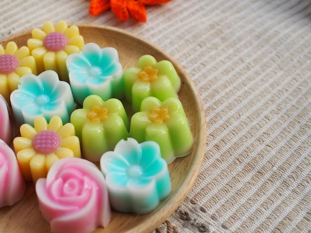 Dolce e dolce dolce gelatina tailandese