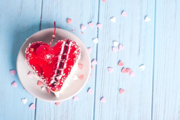 Dolce torta al cuore
