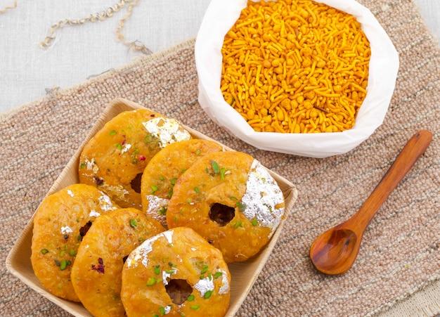 Dolce tradizionale indiano kachori
