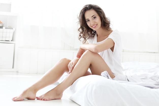 Donna a letto