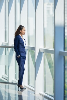 Donna d'affari ambiziosa