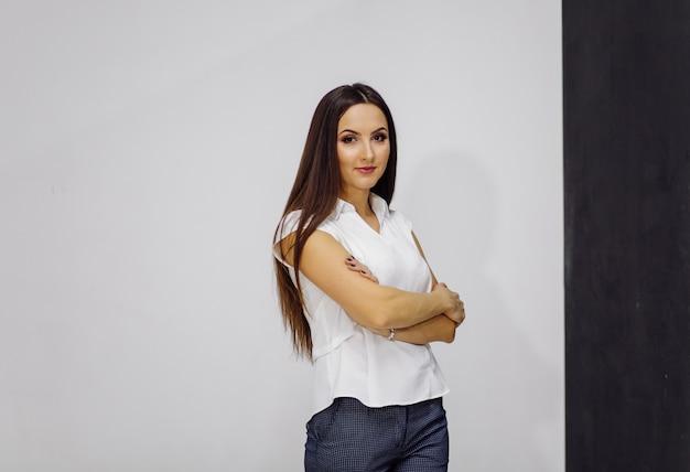 Donna d'affari di successo