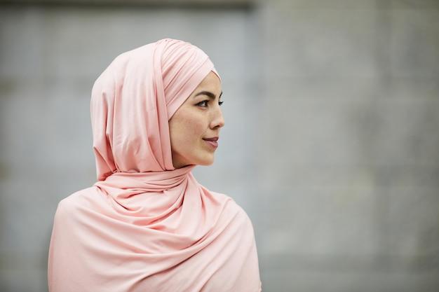 Donna di fede islamica