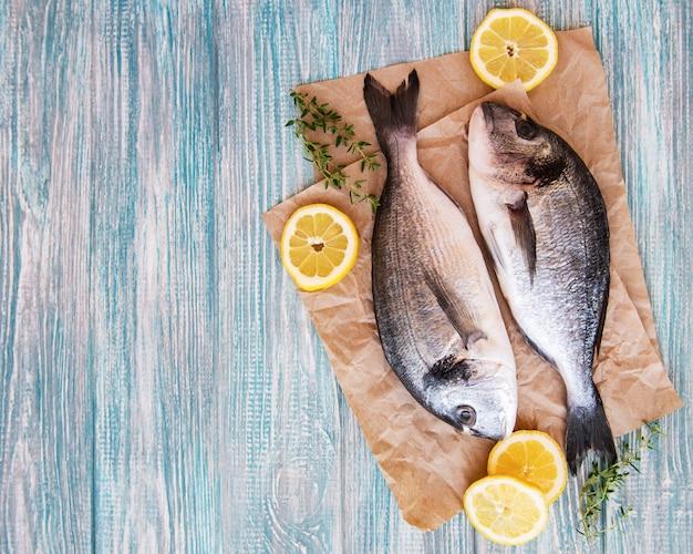 Dorado di pesce fresco