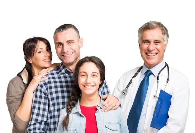 Dottore e famiglia