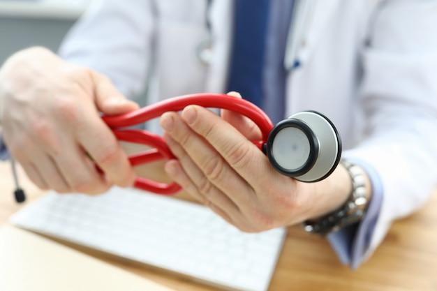 Dottore in gabinetto personale