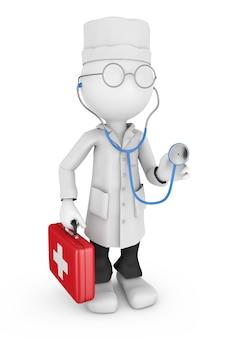 Dottore, stetoscopio